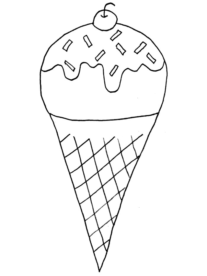 coloring ice cream pages coloring pages of ice cream cone with cherry coloring pages cream coloring pages ice