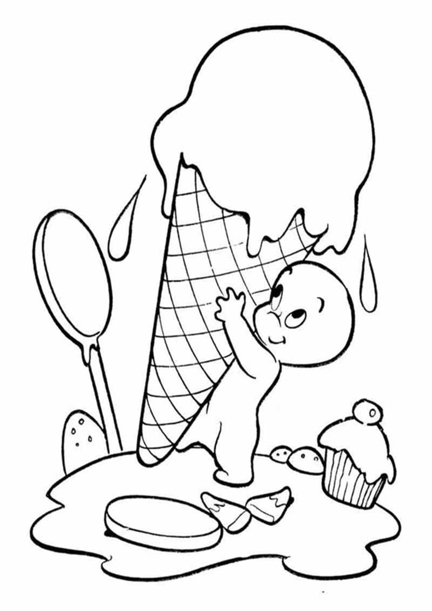coloring ice cream pages free easy to print ice cream coloring pages tulamama cream ice pages coloring