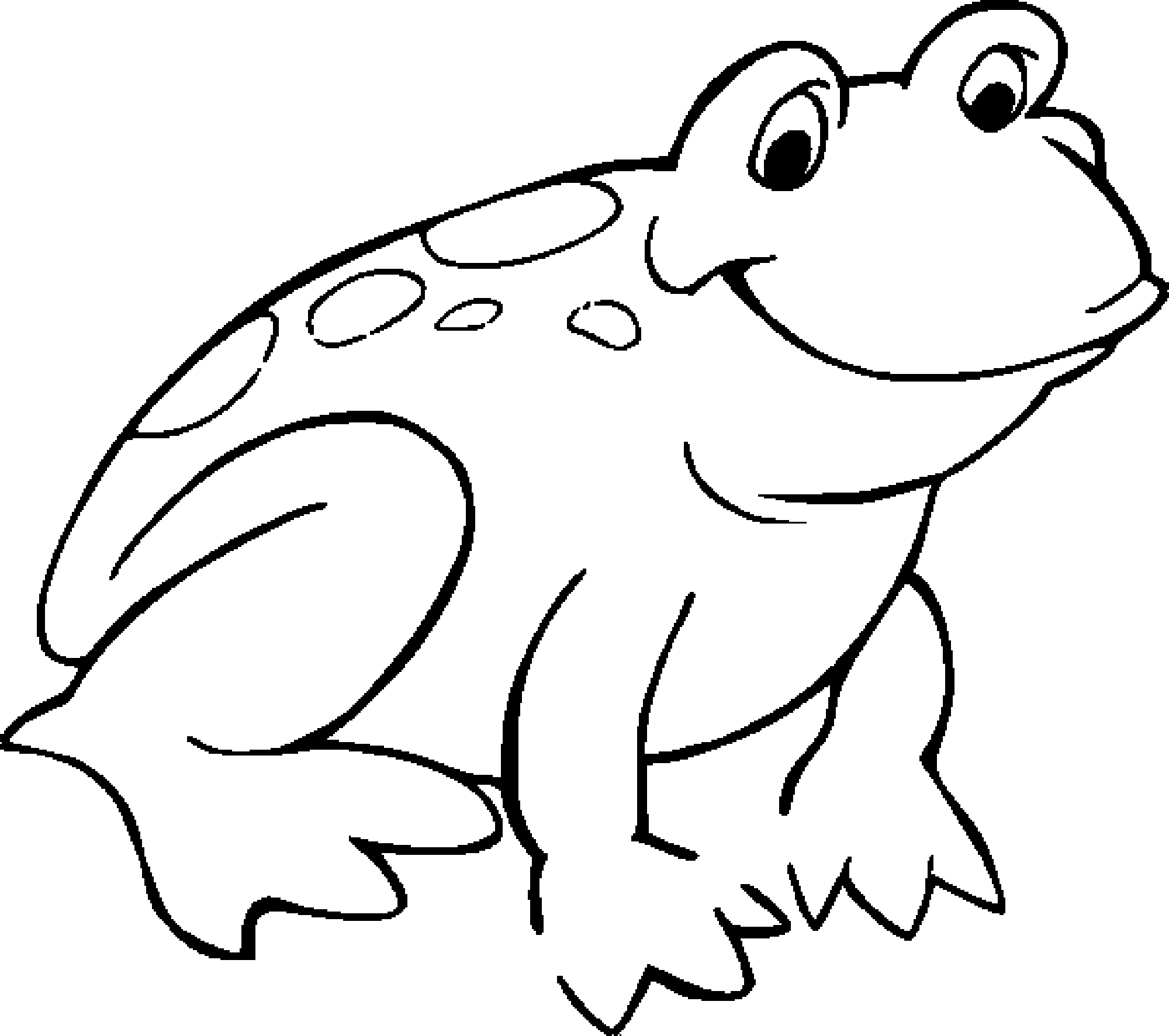 coloring image of a frog free printable frog coloring pages for kids cool2bkids of image frog a coloring