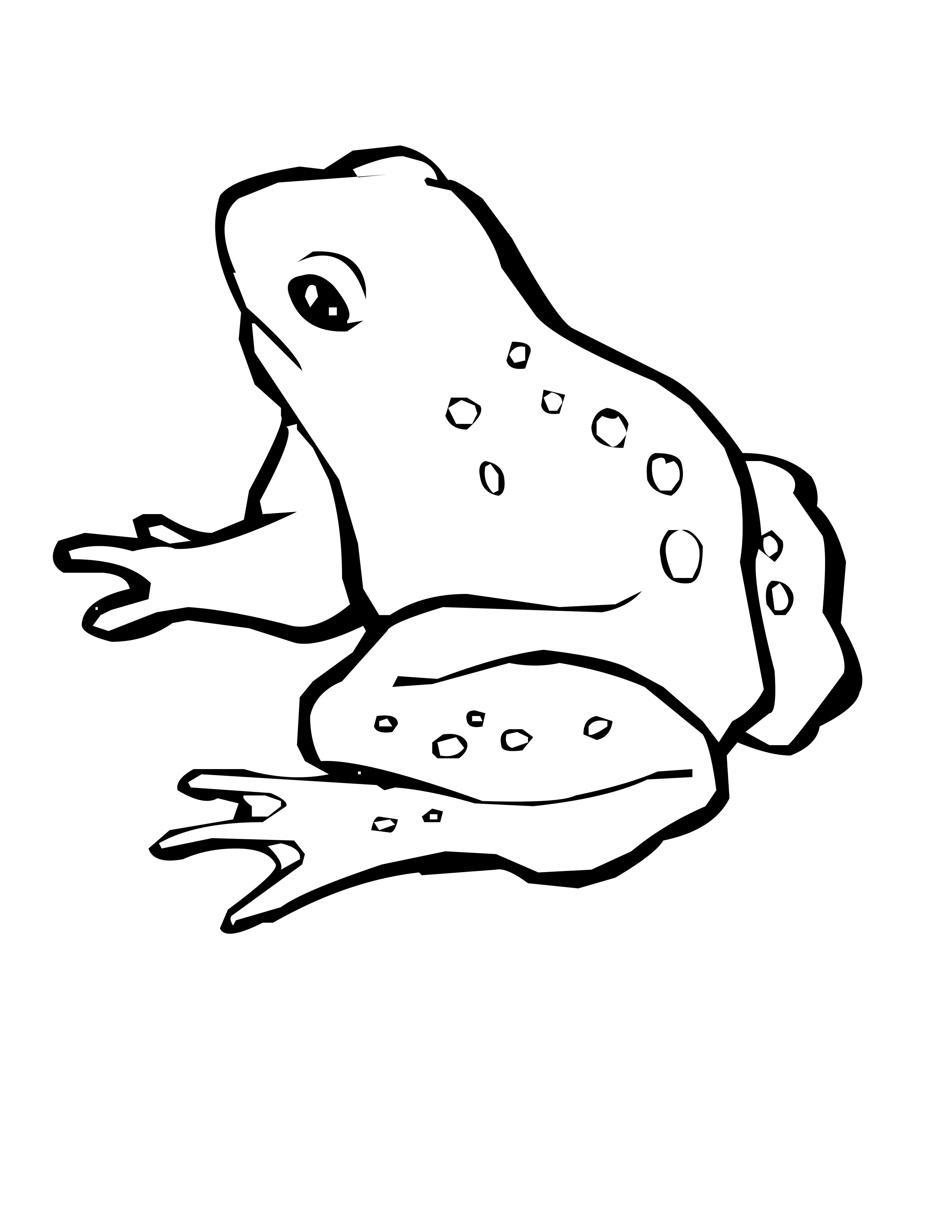 coloring image of a frog frogs for kids frogs kids coloring pages coloring image of frog a