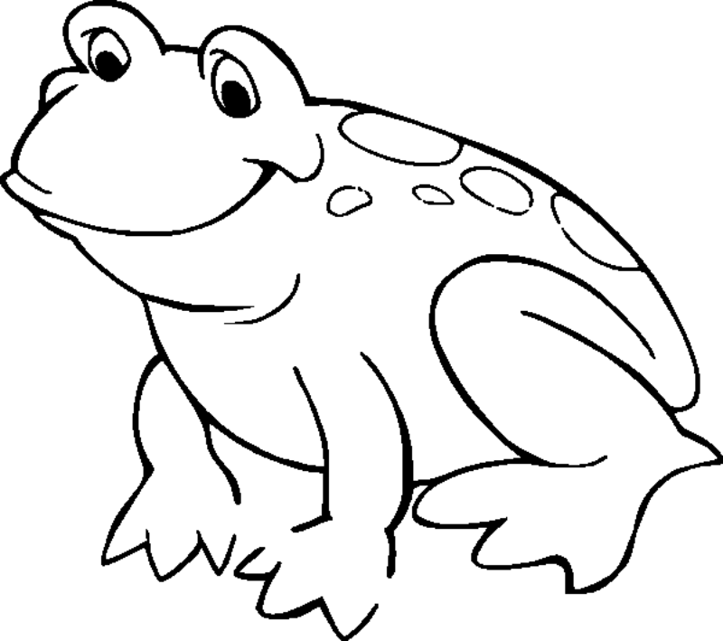 coloring image of a frog print download frog coloring pages theme for kids coloring image frog of a