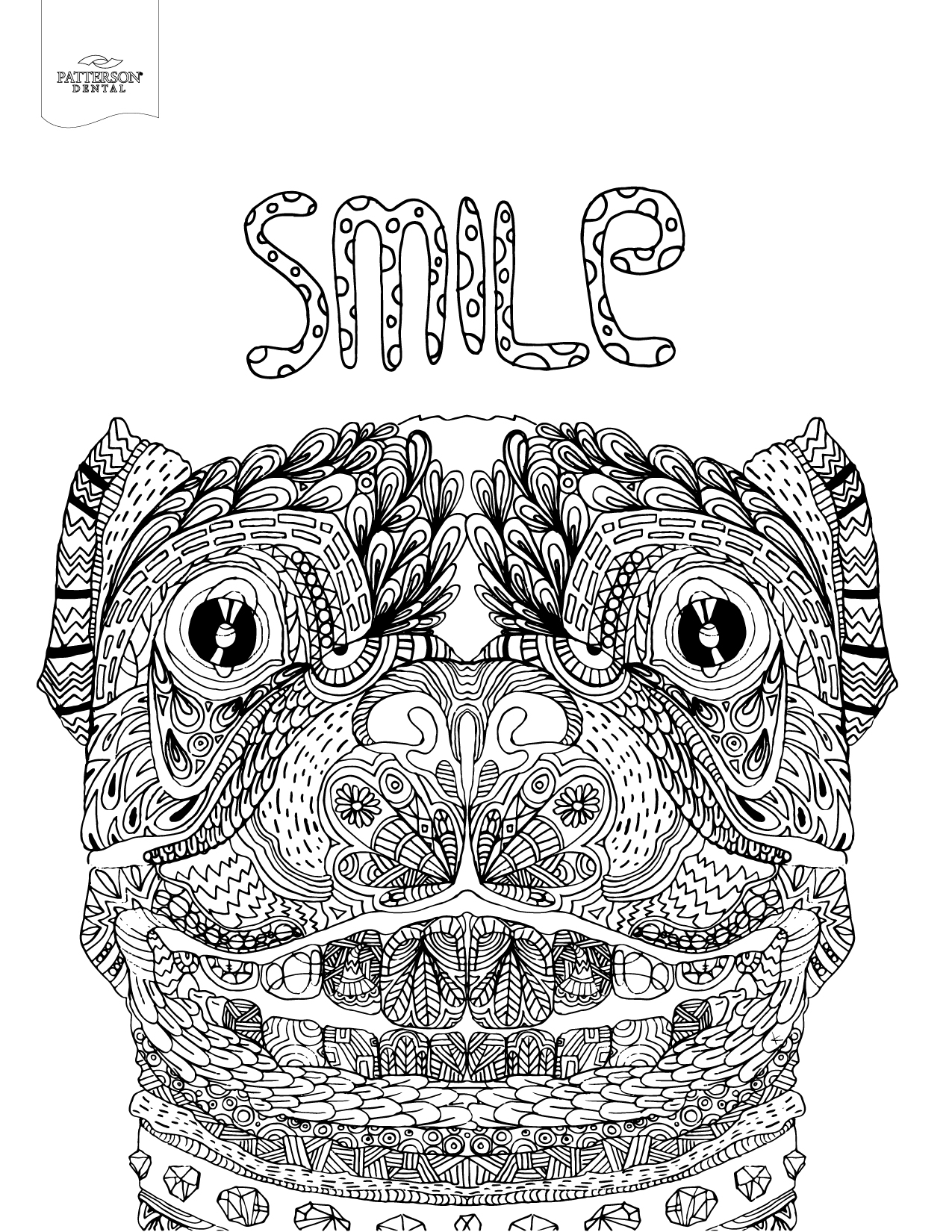 coloring images 10 toothy adult coloring pages printable off the cusp coloring images