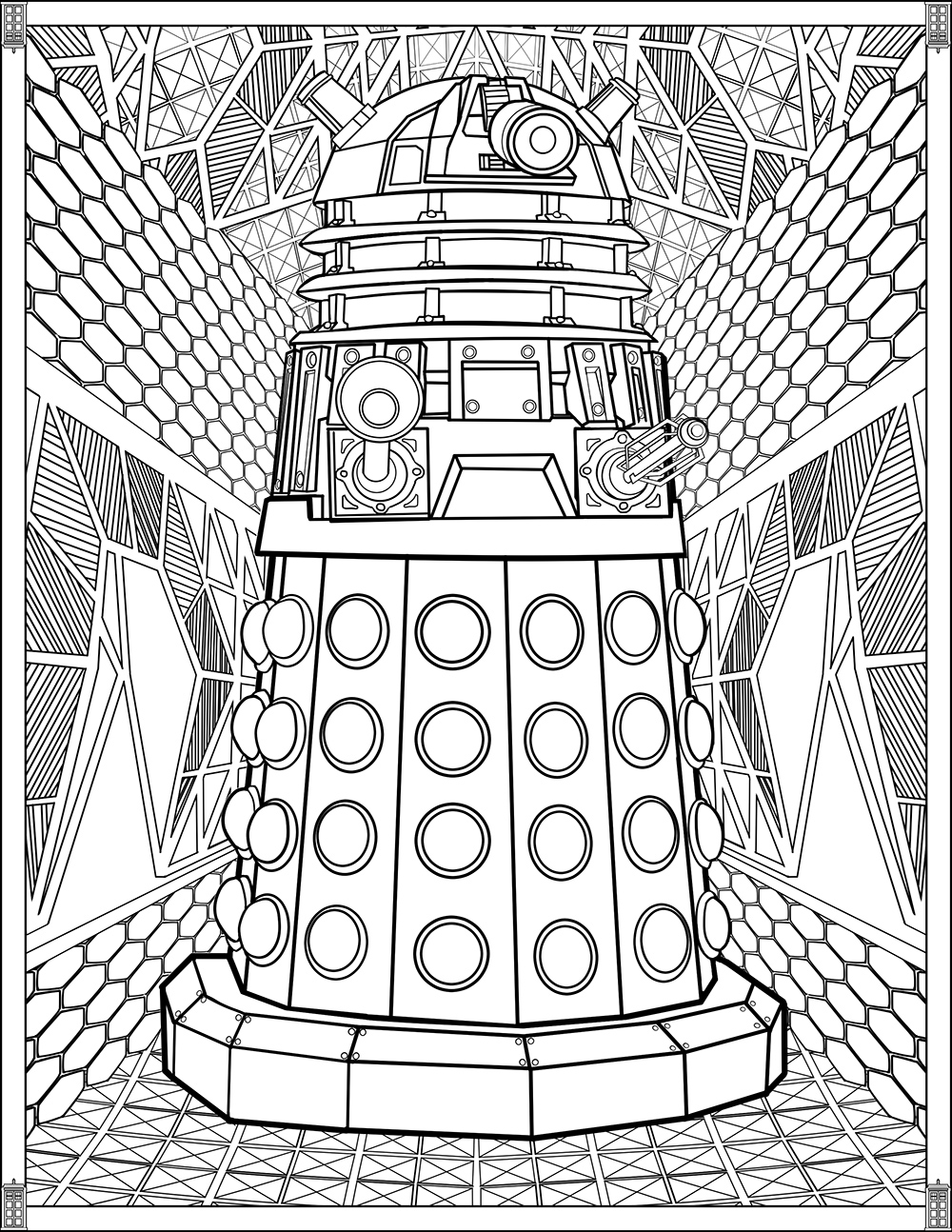 coloring images doctor who wibbly wobbly timey wimey coloring pages coloring images