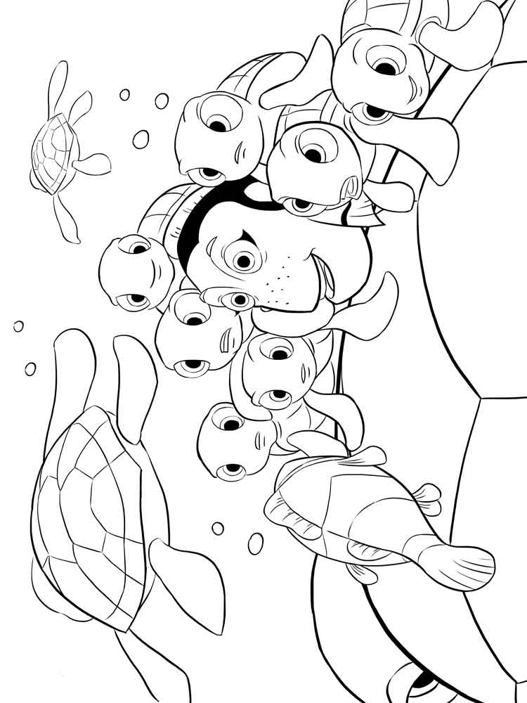 coloring images finding nemo coloring pages for kids free printable images coloring