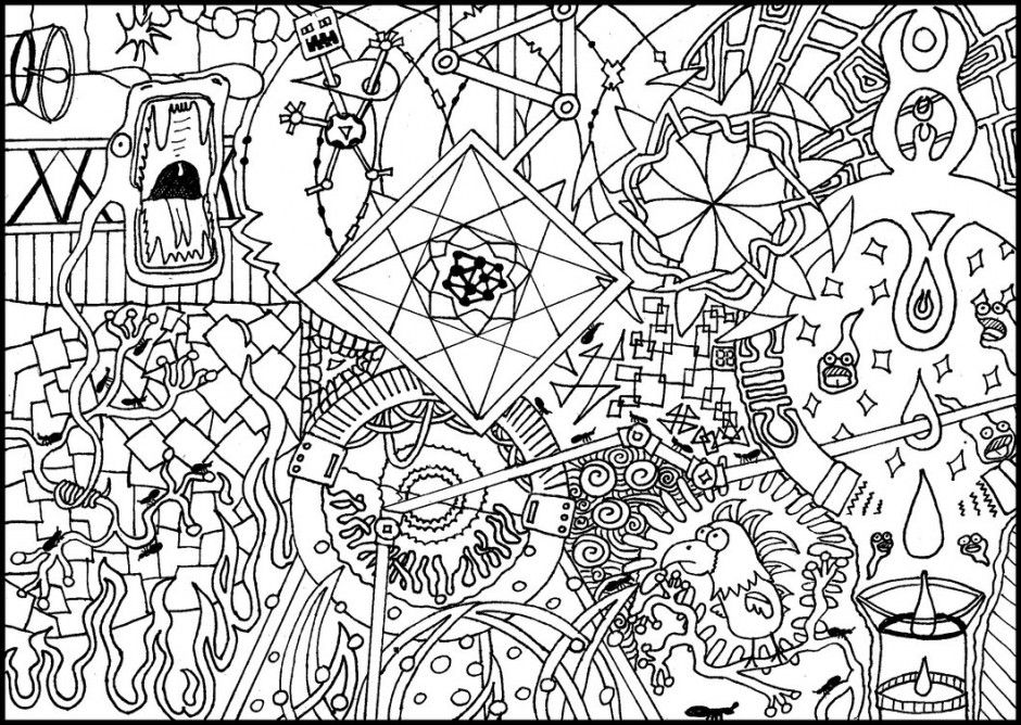 coloring images psychedelic coloring pages coloring home images coloring