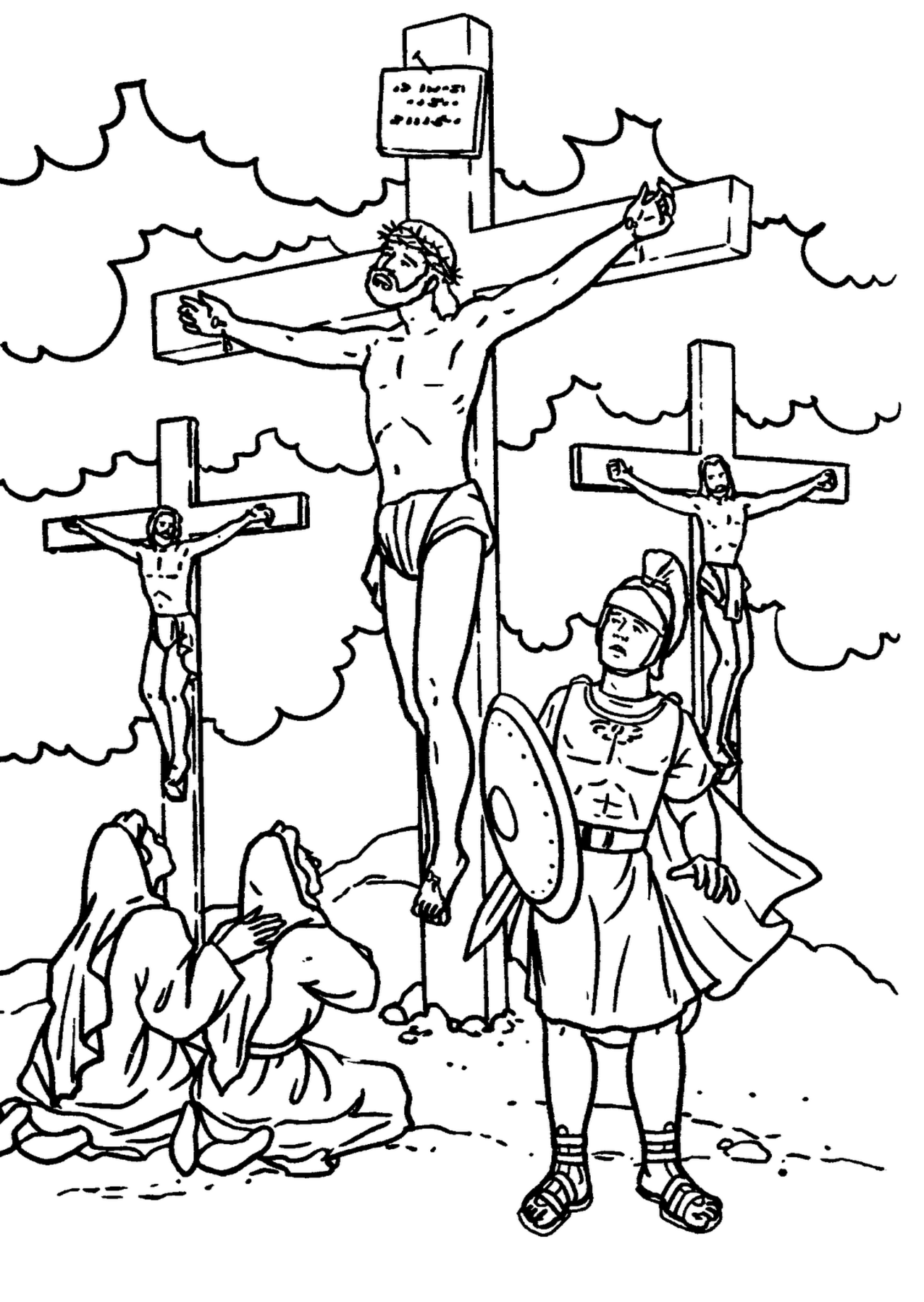 coloring jesus jesus empty tomb coloring pages at getdrawings free download coloring jesus