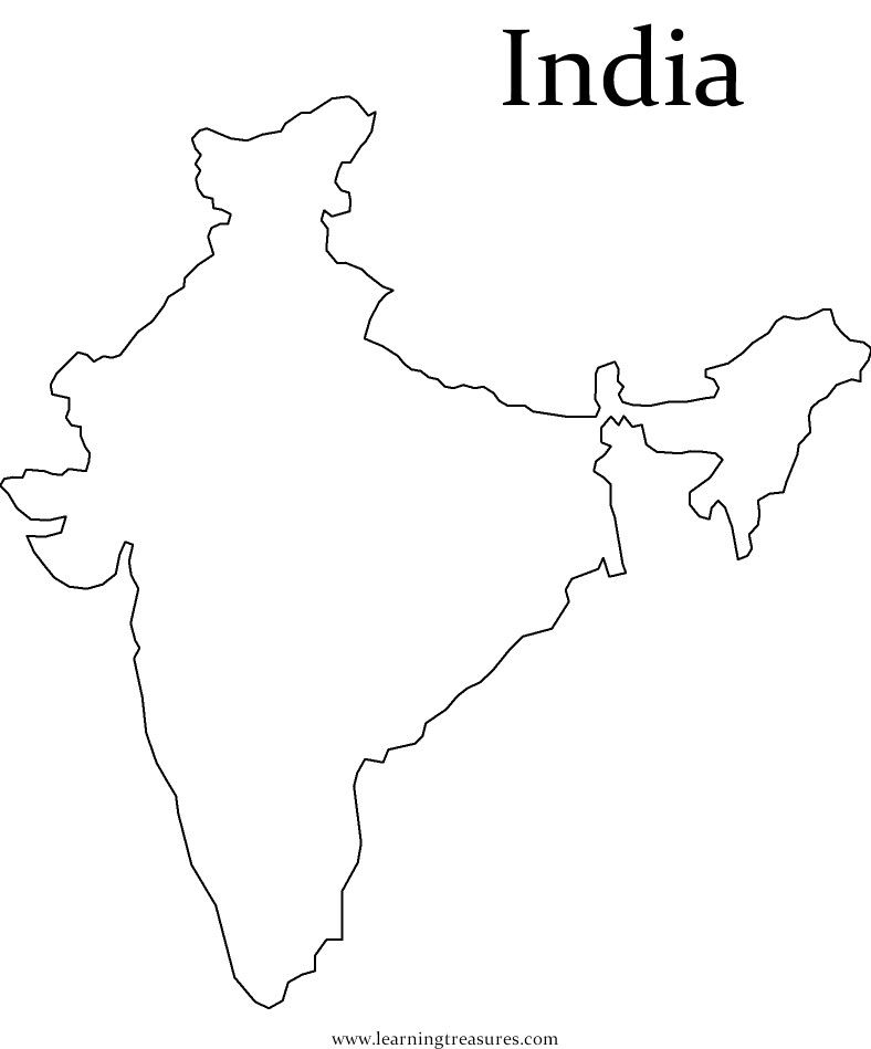coloring map of india independence day india coloring pages coloring pages india map of coloring