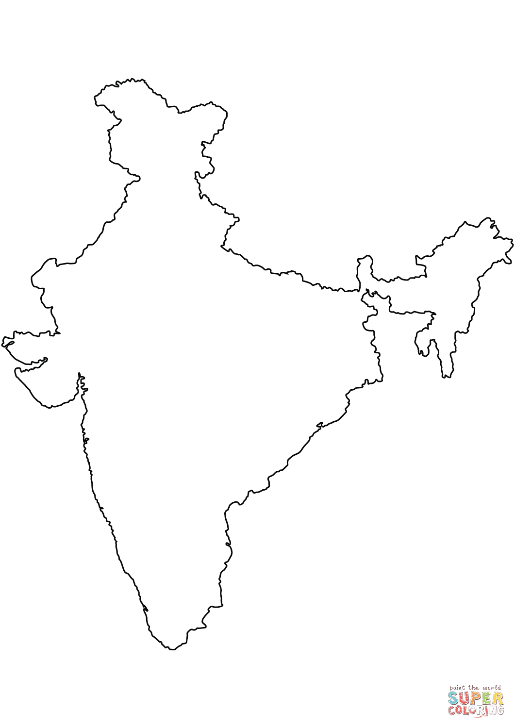 coloring map of india india map coloring pages india map coloring page ancient india coloring map of
