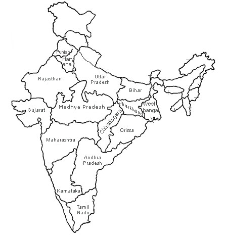 coloring map of india top 10 free printable india coloring pages online map coloring of india