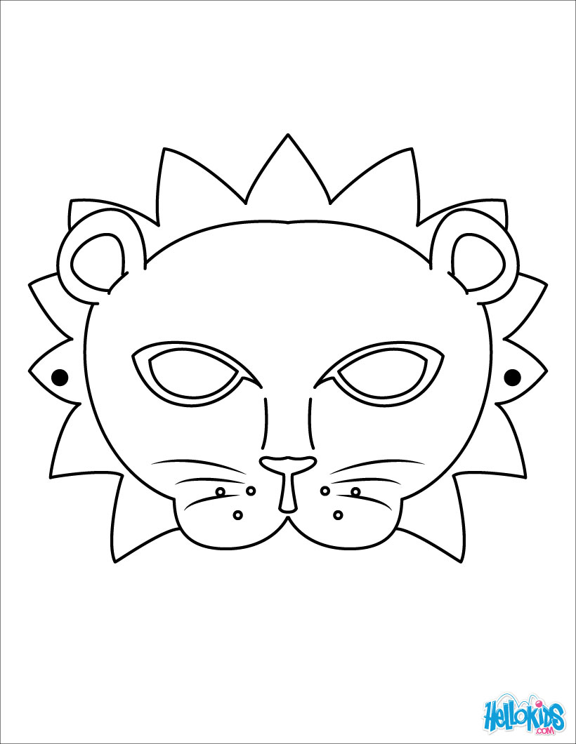 coloring mask animal coloring pages animal masks luxury printable animal masks animal coloring mask