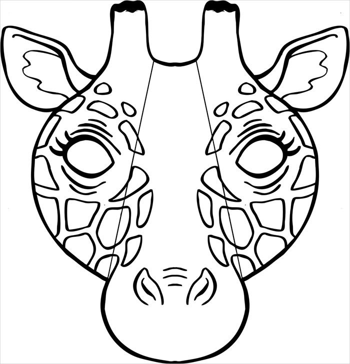 coloring mask animal free printable mask coloring pages for kids coloring animal mask