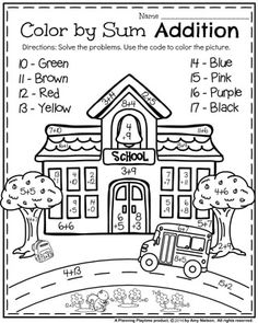 coloring math for 1st graders 1st grade geometry worksheets basic mathematics for 1st math graders coloring