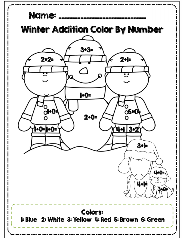 coloring math for 1st graders 1st grade winter math coloring worksheets colouring mermaid 1st for graders math coloring