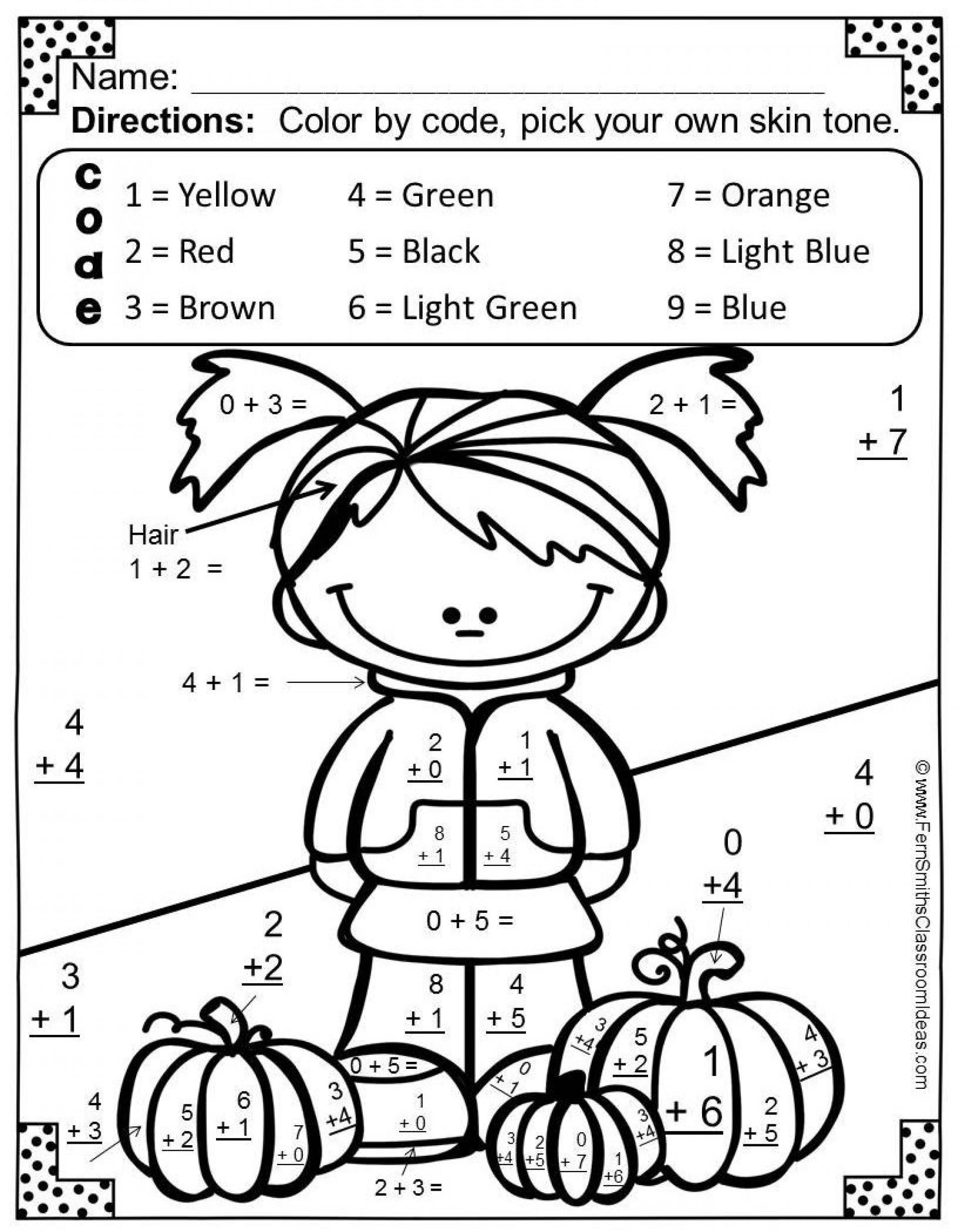coloring math for 1st graders addition color by number with images 2nd grade math coloring graders math 1st for