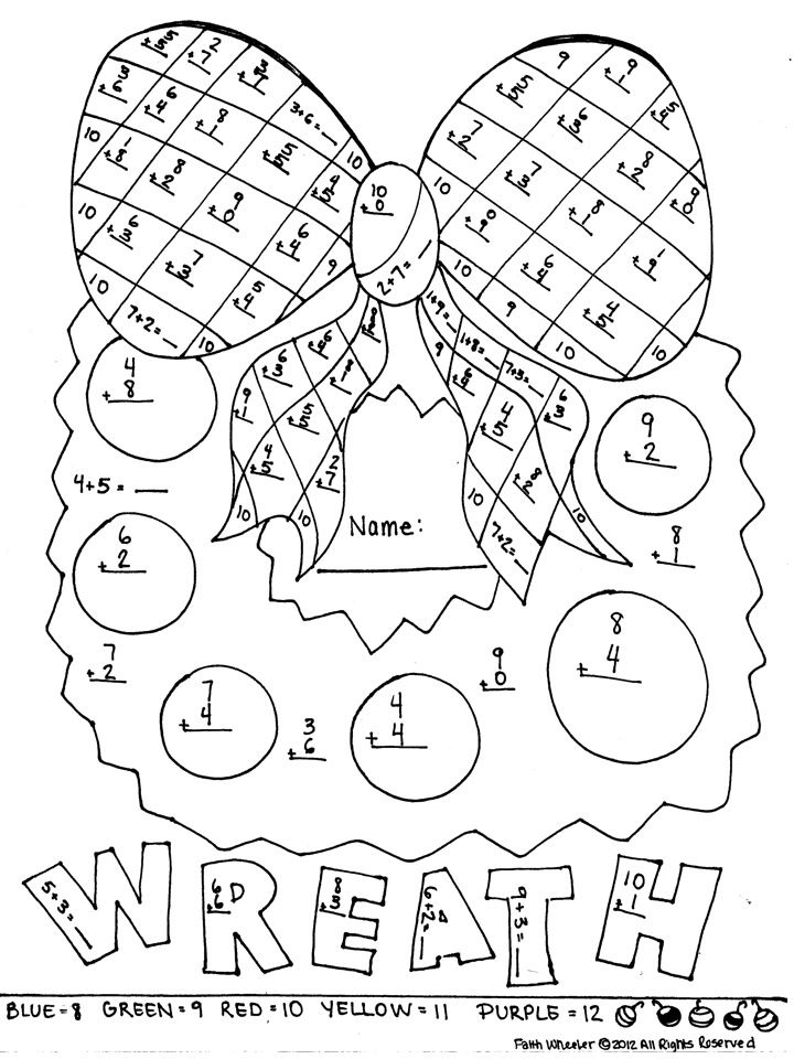 coloring math for 1st graders math color by number worksheets for 1st grade 2 math math coloring 1st for graders
