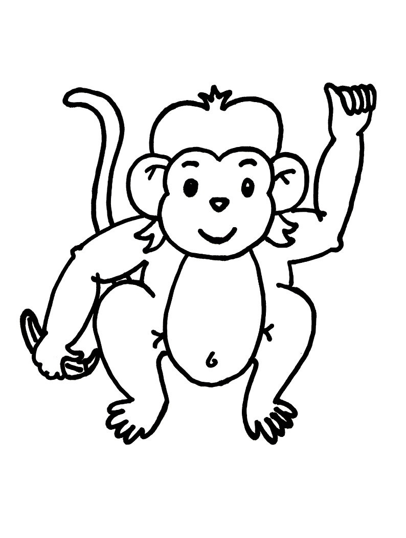 coloring monkey printable get this summer coloring pages to print out for adults printable coloring monkey