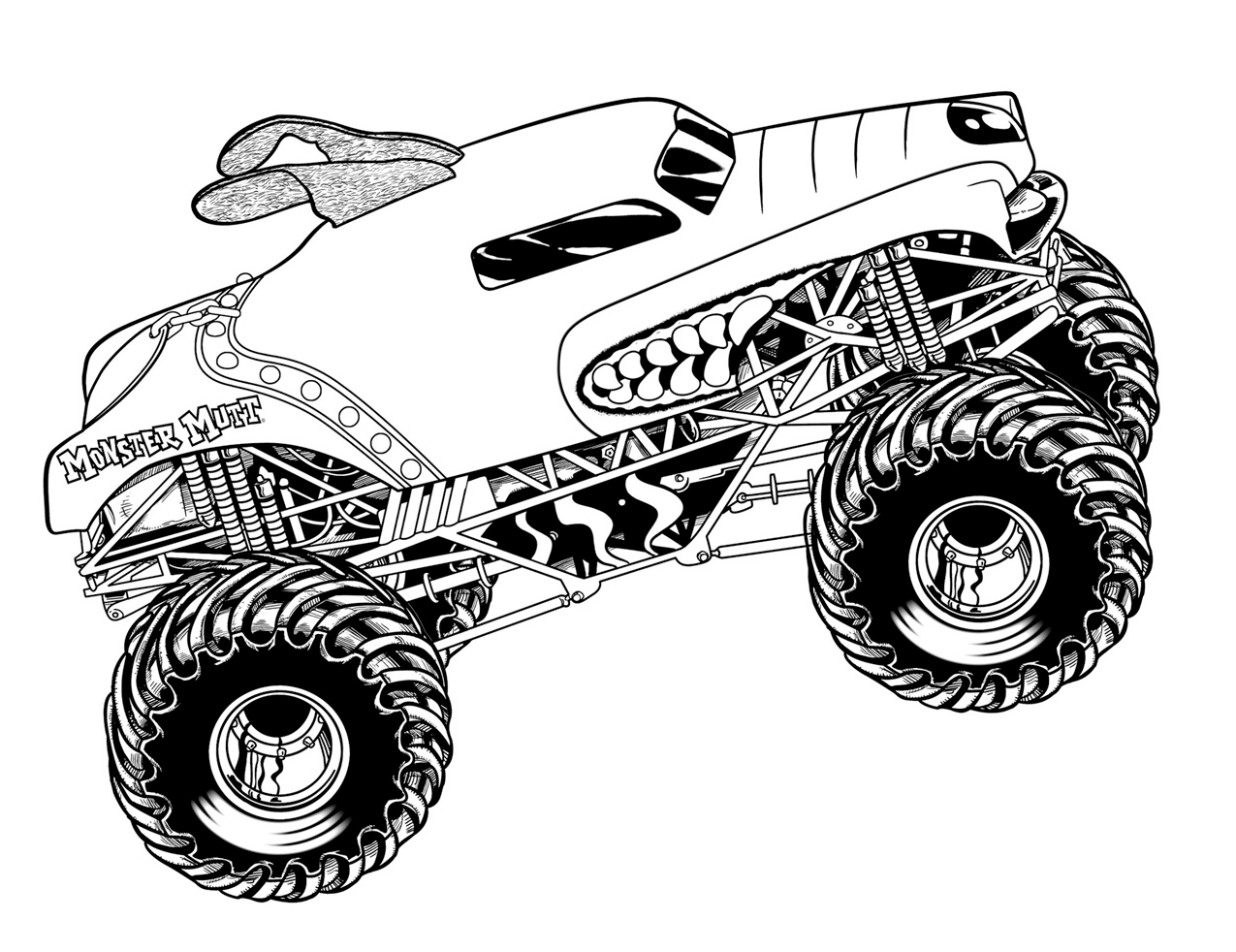 coloring monster truck max d monster truck coloring pages coloring pages coloring monster truck