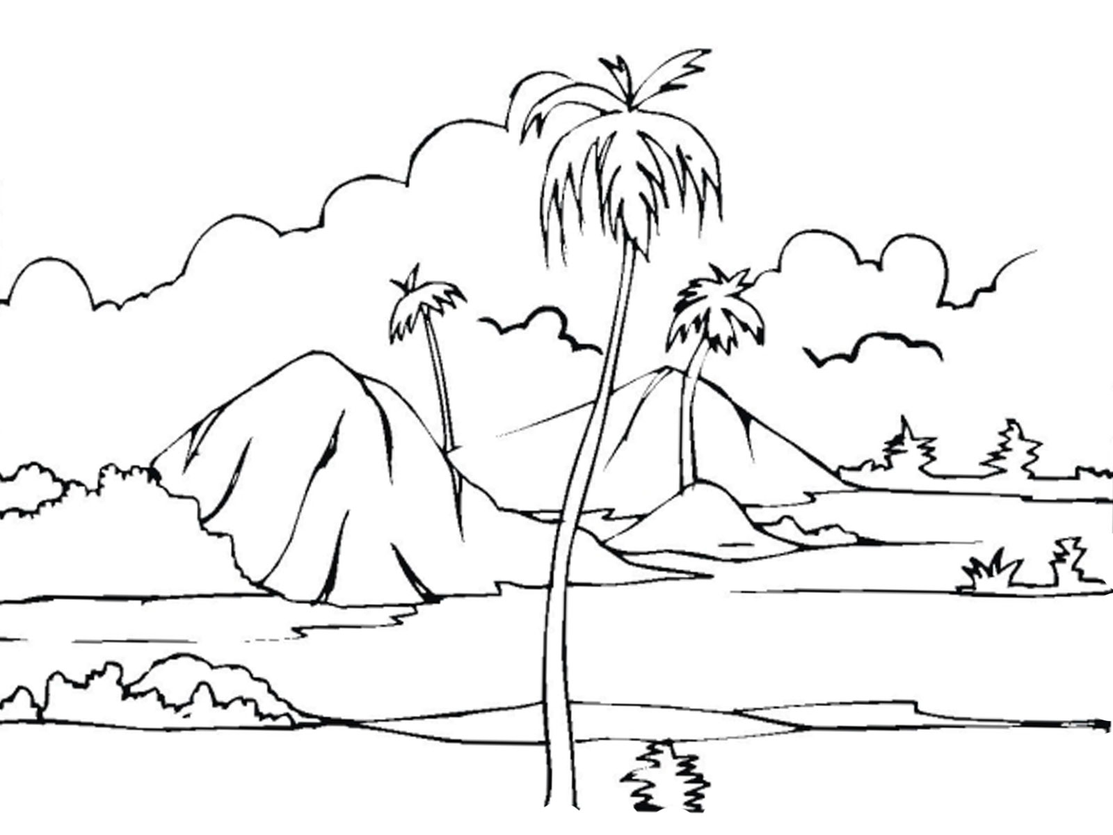 coloring nature images free printable nature coloring pages for kids best coloring nature images 1 1