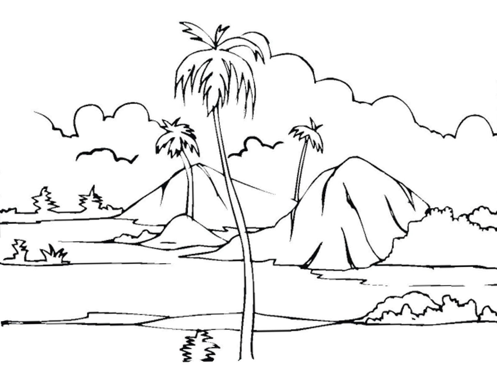 coloring nature images printable nature coloring pages for kids images nature coloring