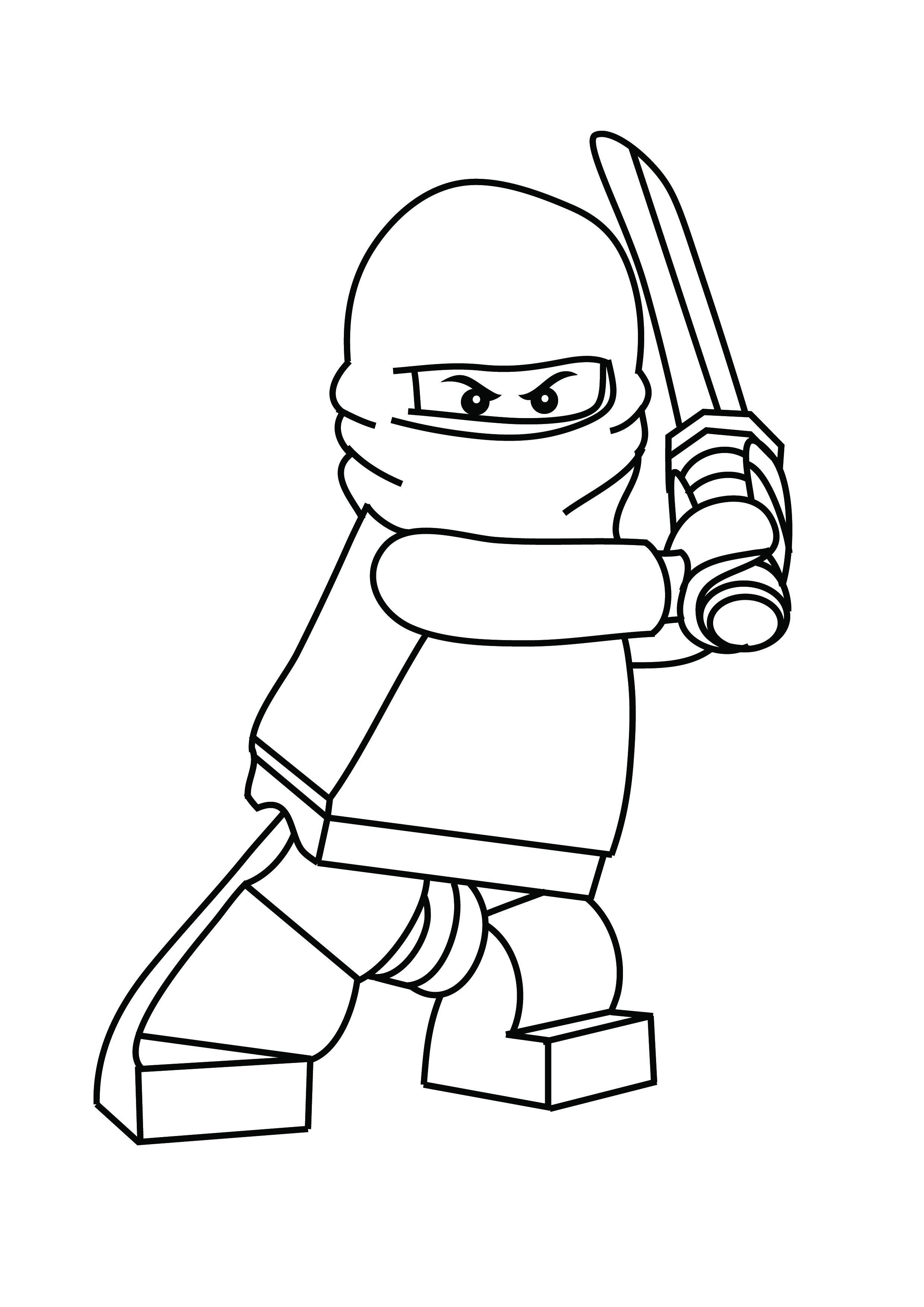coloring ninja lego free printable lego coloring pages for kids lego ninja coloring