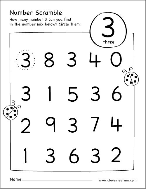 coloring number 3 worksheets for preschool coloring number 3 pdf printable activity for kids with preschool for 3 number coloring worksheets
