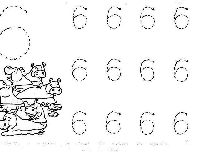 coloring number 6 worksheets for kindergarten craftsactvities and worksheets for preschooltoddler and for worksheets kindergarten number 6 coloring