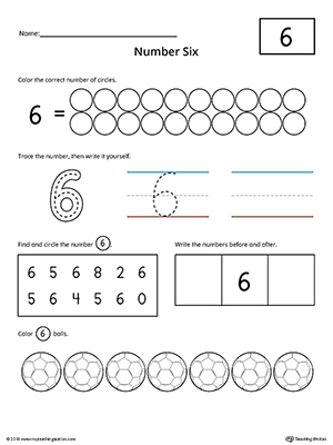 coloring number 6 worksheets for kindergarten learn to count and write number 5 learning numbers coloring 6 for worksheets kindergarten number
