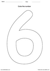 coloring number 6 worksheets for kindergarten numbers read count trace color the number 6 preschool kindergarten coloring worksheets for number 6