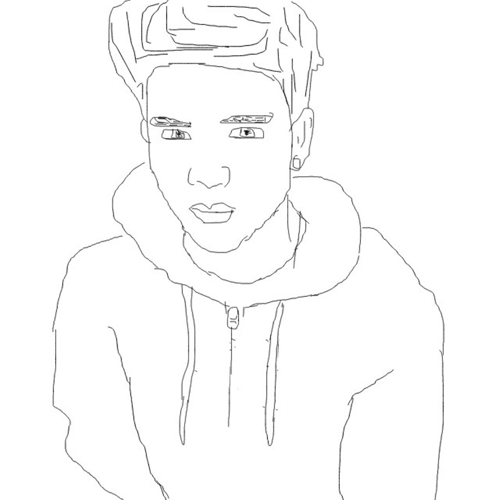 coloring outline of a boy coloring boy a outline coloring boy of