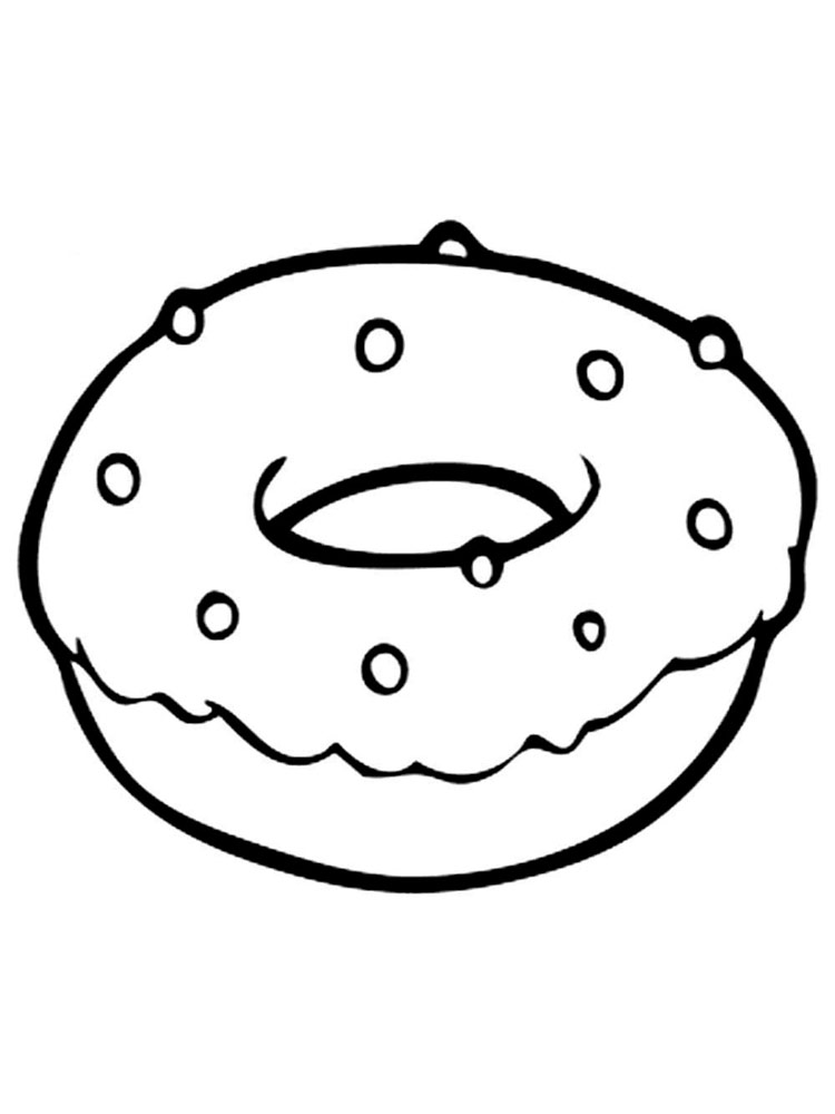 coloring page donut donut coloring pages free printable donut coloring pages coloring donut page