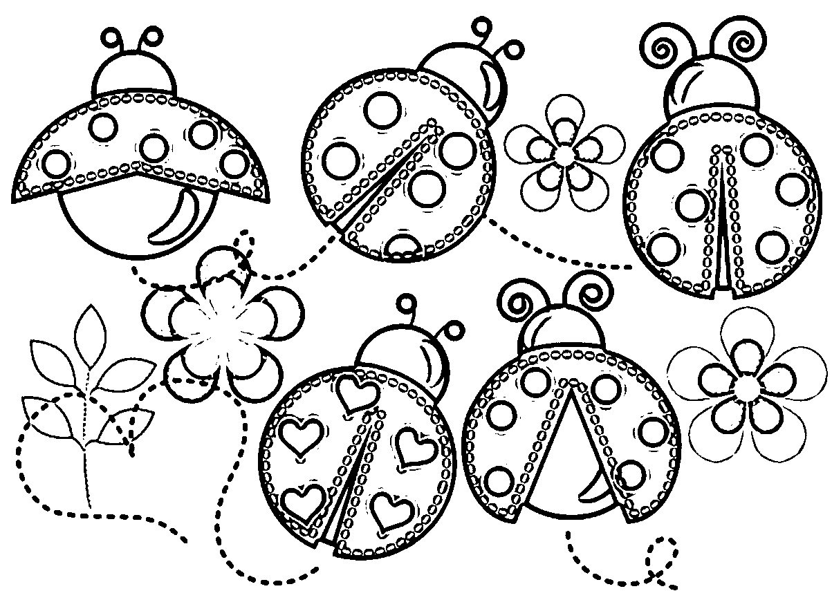 coloring page ladybug ladybird free colouring pages ladybug page coloring