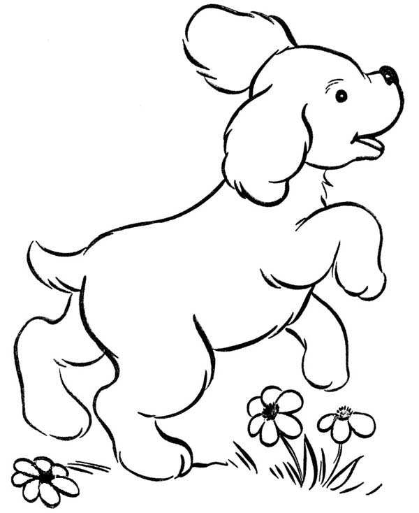 coloring page of a dog happy pet dog running around coloring page coloring sky of a dog page coloring