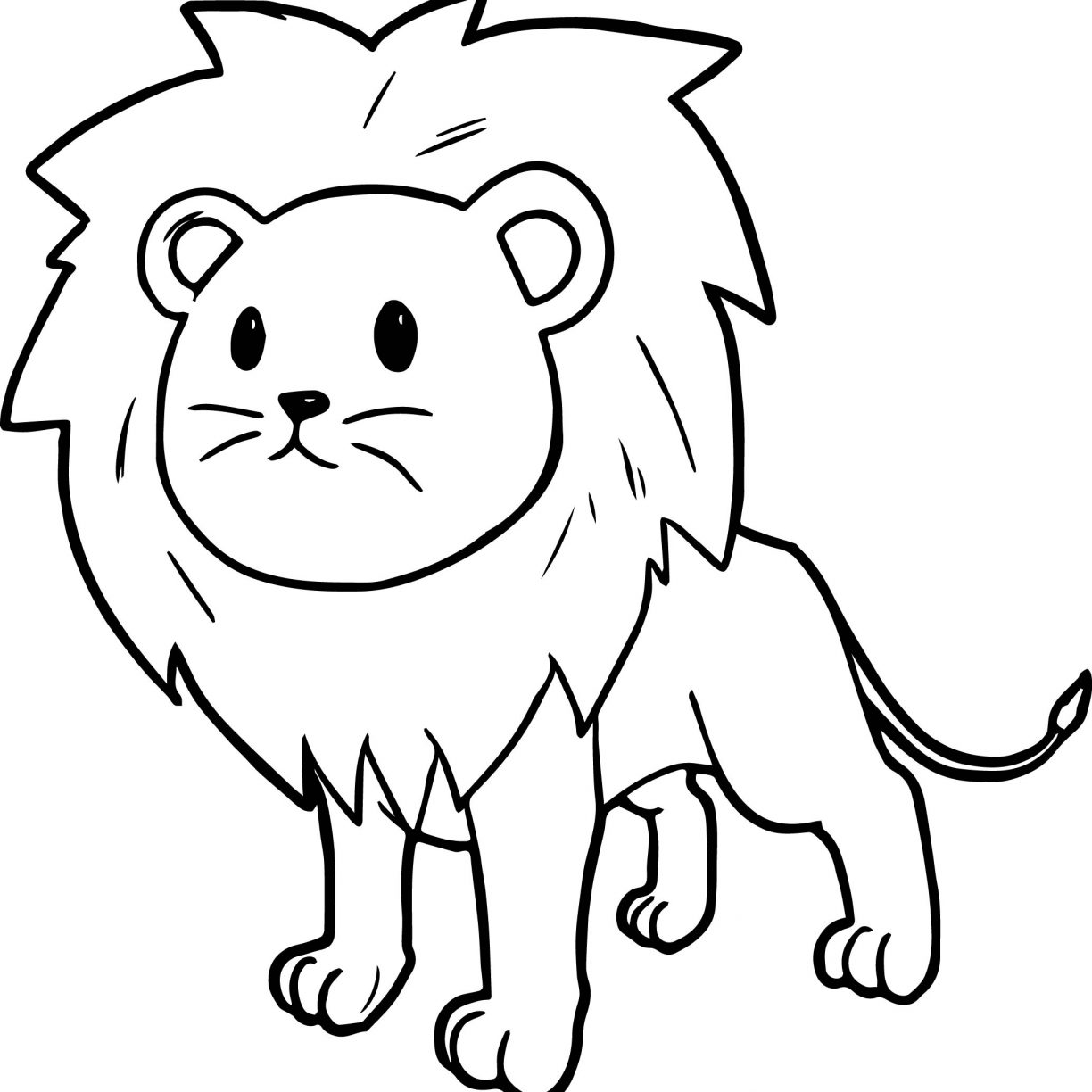 coloring page of a lion lion coloring pages free download on clipartmag page a of lion coloring