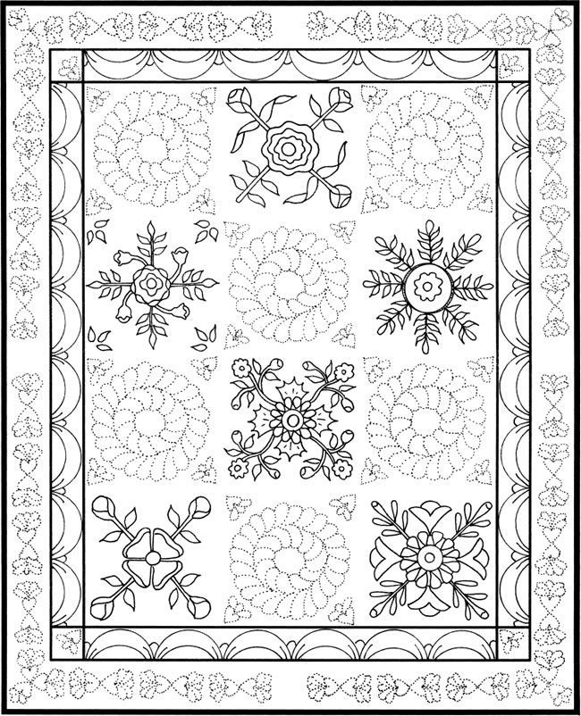 coloring page quilt quilt coloring pages to download and print for free quilt coloring page 1 1