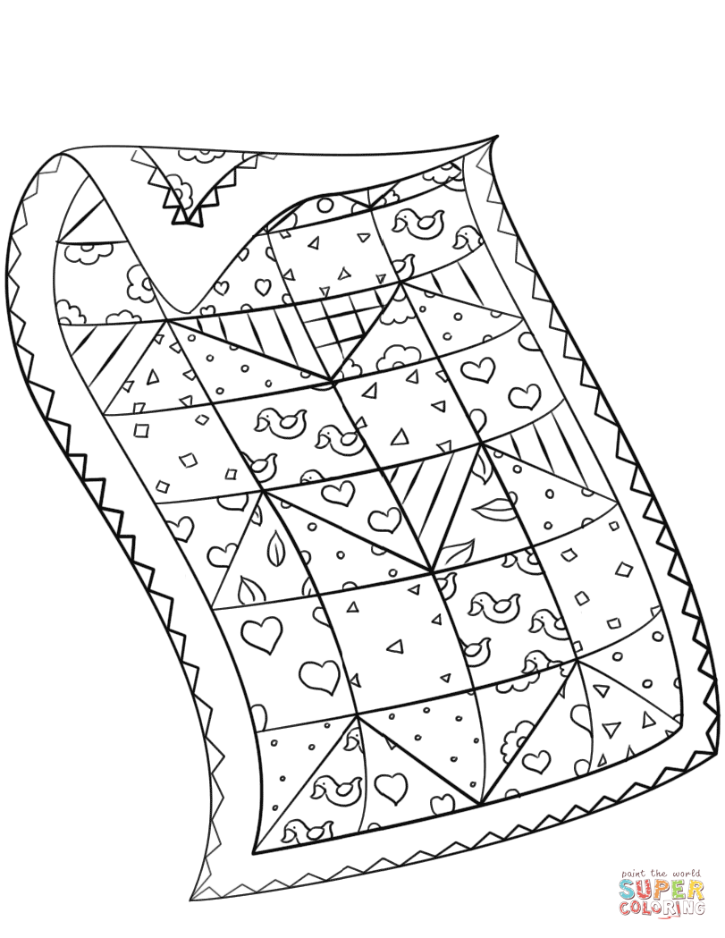 coloring page quilt quilt coloring pages to download and print for free quilt page coloring