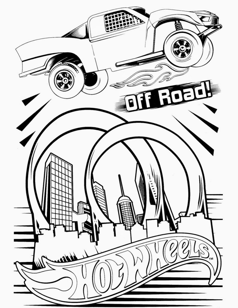 coloring page race car car with spoiler coloring page coloring home car page coloring race