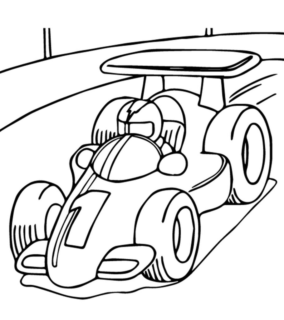 coloring page race car coloring pages racecars coloring pages coloring race car page