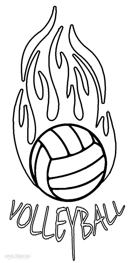 coloring page volleyball printables free printable volleyball coloring pages for kids volleyball coloring page printables