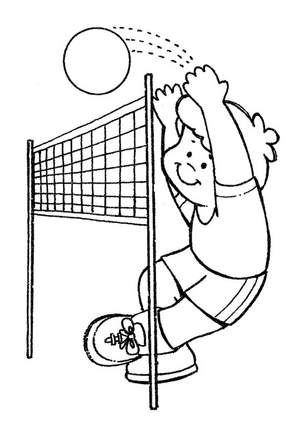 coloring page volleyball printables printable volleyball coloring pages for kids cool2bkids volleyball page printables coloring