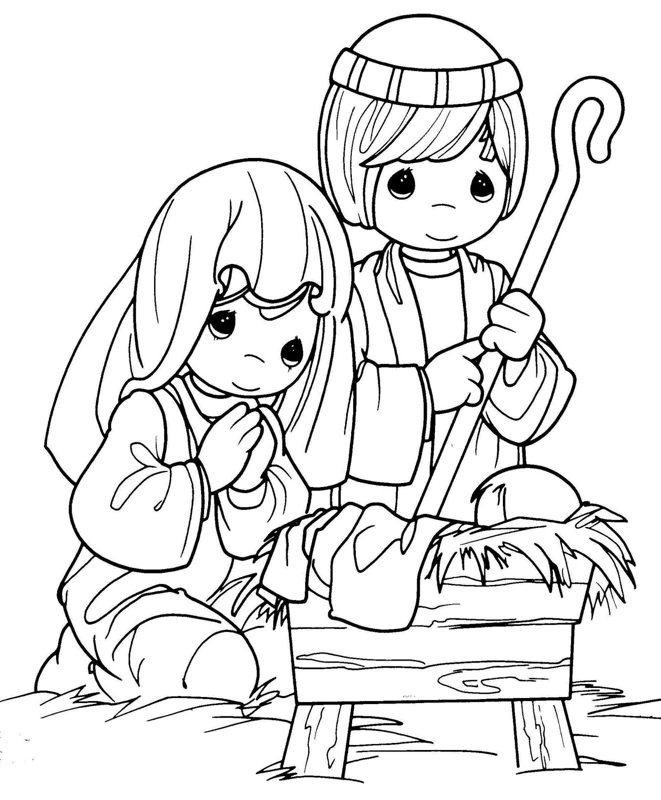 coloring pages baby jesus in manger coloring pictures of baby jesus in a manger coloring pages jesus baby manger in pages coloring