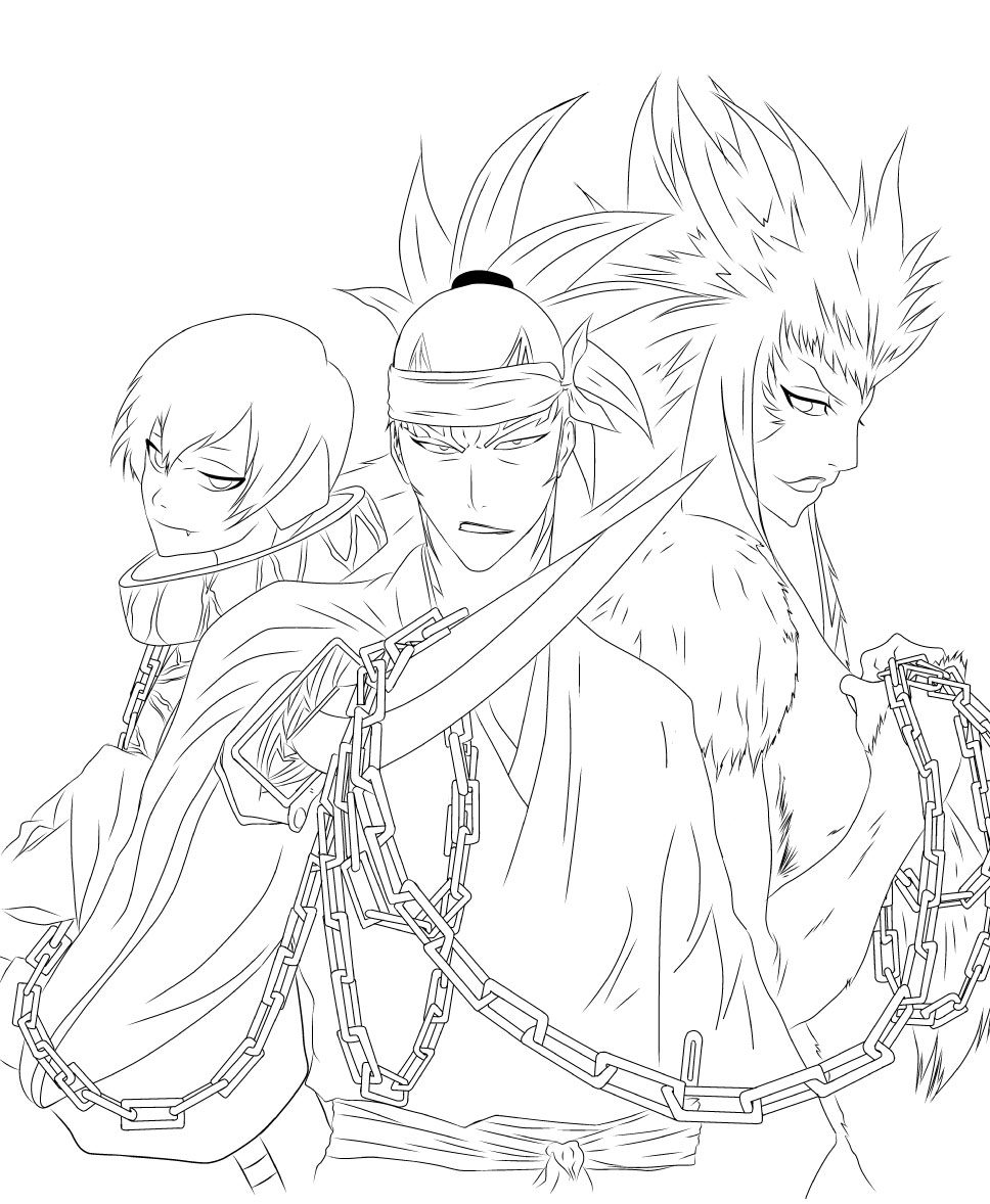coloring pages bleach 13 pics of bleach manga coloring pages anime bleach bleach pages coloring