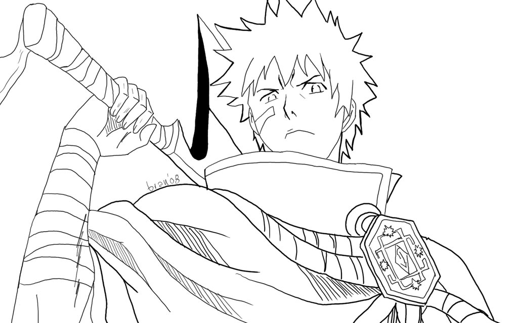 coloring pages bleach bleach yoruichi coloring page coloring pages coloring bleach pages