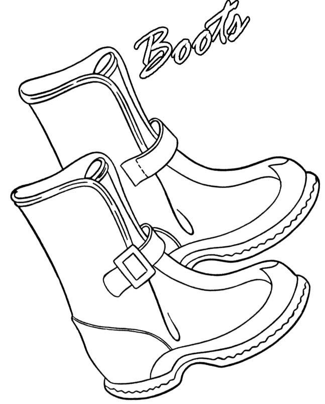 coloring pages boots boot coloring pages pages boots coloring