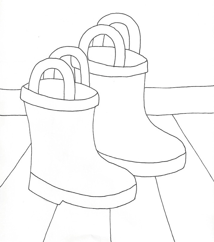 coloring pages boots cowboy boot coloring pages clipart best pages boots coloring