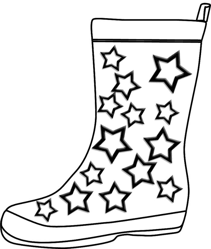 coloring pages boots hiking boots drawing at getdrawings free download pages boots coloring