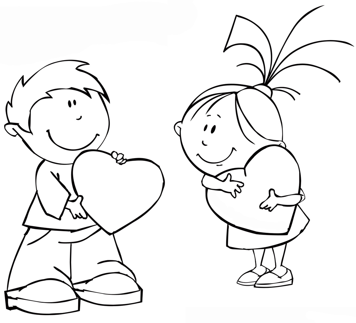 coloring pages boys and girls boy and girl coloring pages pages and girls coloring boys