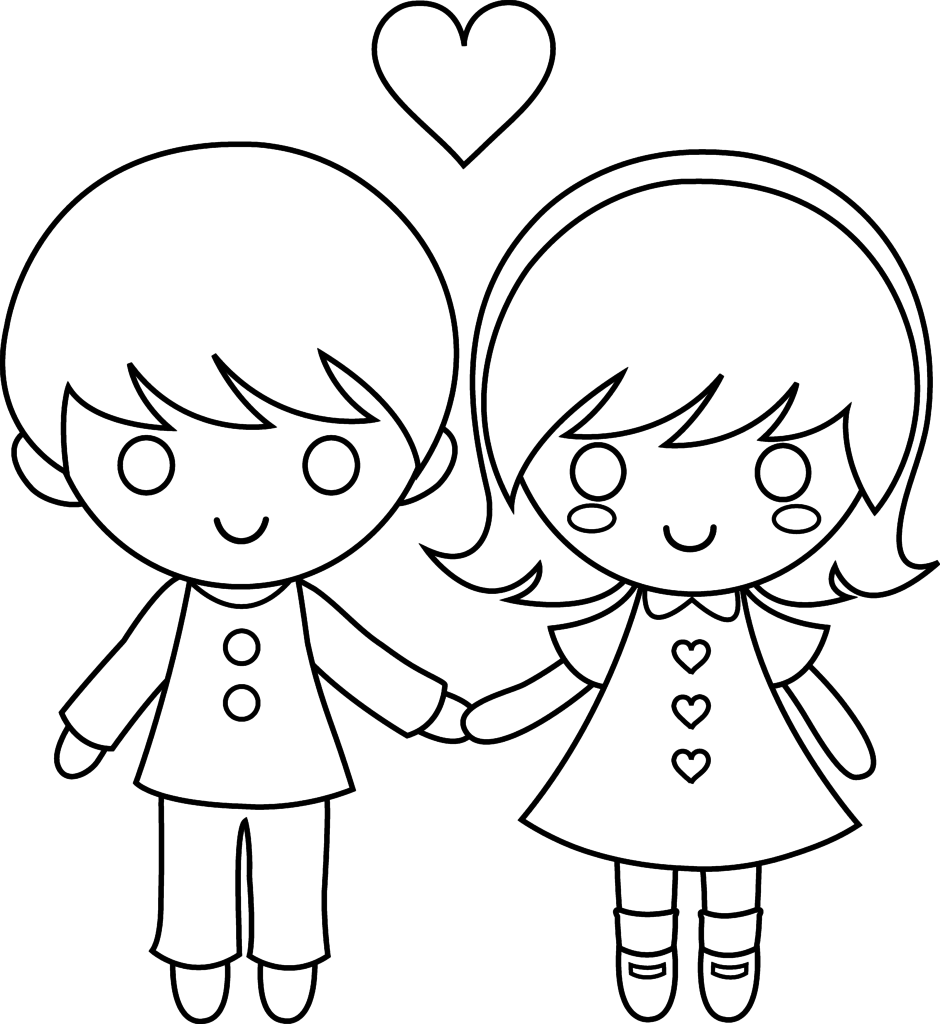 coloring pages boys and girls boy and girl kissing coloring pages pages girls and coloring boys