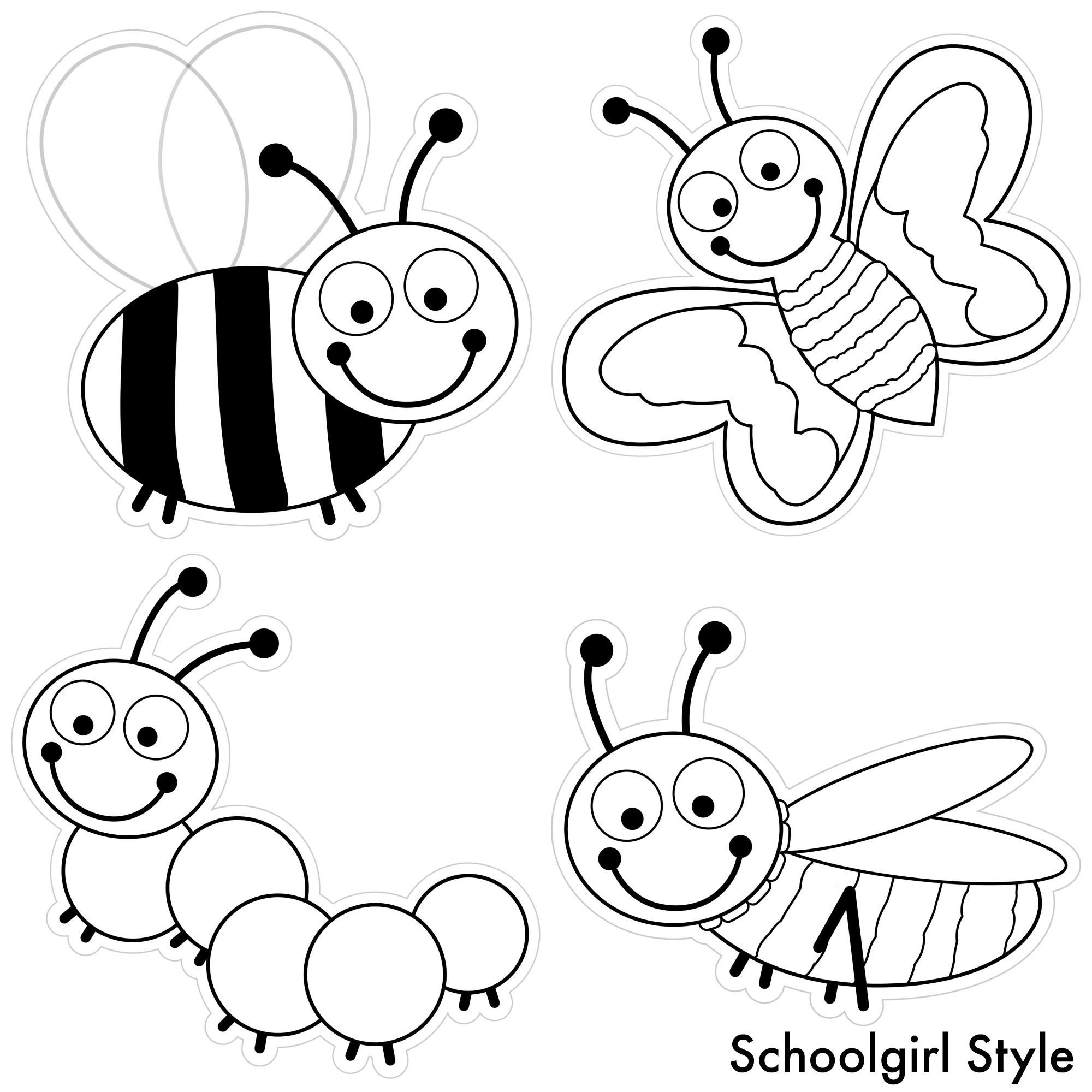 coloring pages bugs color my classroom bugs by schoolgirl style schoolgirlstyle bugs coloring pages