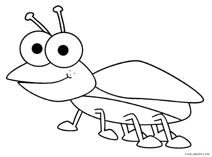coloring pages bugs printable bug coloring pages for kids cool2bkids coloring bugs pages