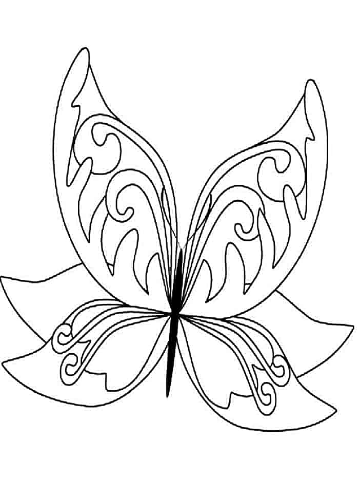 coloring pages butterfly butterfly coloring pages learn more about butterfly here coloring butterfly pages